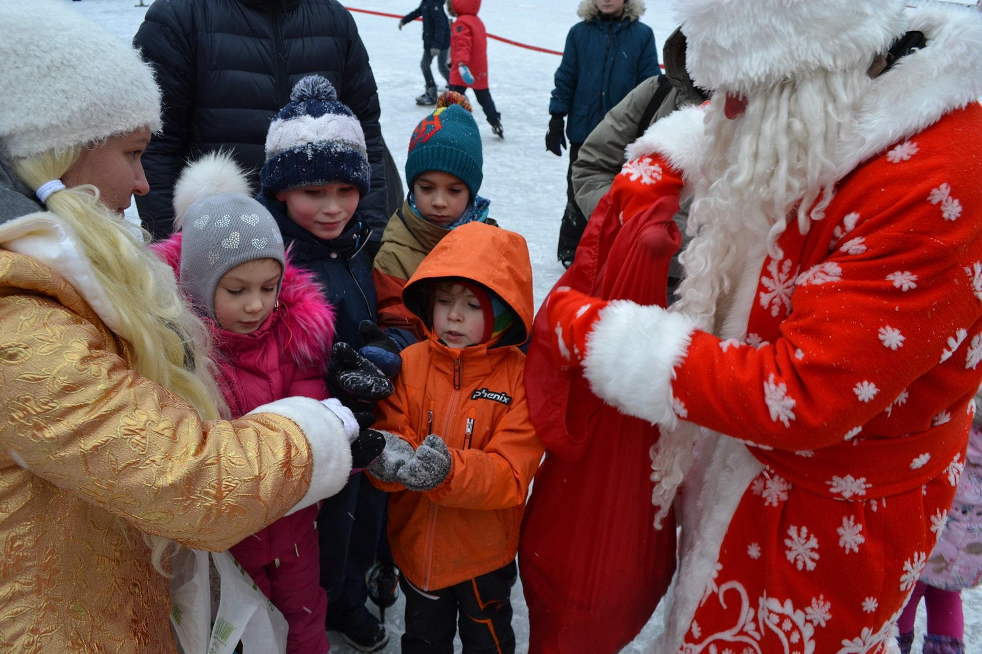 Новогодние праздники вместе с ДЦК «ШАНС»