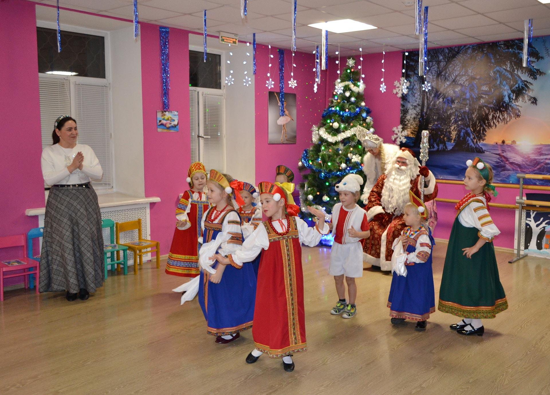 20.12.19 прошла Елка в Мини детском саду ДЦК «Шанс»